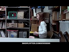 ShopLyfter - Redhead Teen Caught...