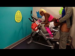 Clip sex Anal Ass Deep Fuck Big Butt In Public Gym By BBC On Exercise Bike , Black Spinner Msnovember Sphincter Fucked  Hardcore Sex 4k Sheisnovember