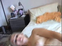 Mature mexican enjoys a hard fuck and a big facial