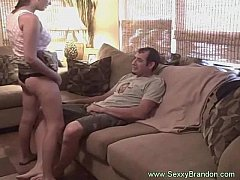 thumb couch quickie f  or busty brunette babe te bab tte babe te babe