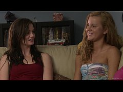 Lily Carter And Jessie Rogers Have Girl On Girl Sex