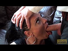 PASCALSSUBSLUTS - MILF Layla Lixx throated and banged facial