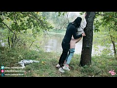 Seems my ex saw everything! Extreme sex in the forest - MollyRedWolf