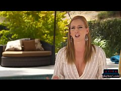 Divorced cougar gets lucky with younger guy and...