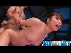 Sexy Japanese milf gets...