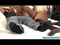 Nubian tranny anally pounded...