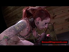 Tattood ginger bdsm sub nailed roughlyreed[39]