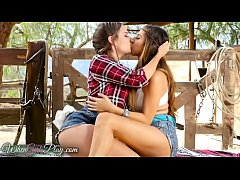When Girls play - Cassidy and Nina have fun in the stable