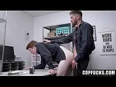 Sexy Security Officer Caught an Twink Stealing ...