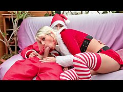 LETSDOEIT - French Wife Banged Hardcore by Santa