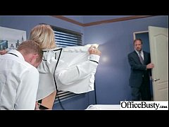Hot Slut Office Girl (Alix Lynx) With Big Boobs Bang Hardcore movie-05