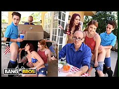 BANGBROS - 4th Of July Threesome With Monique A...
