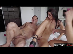 Big Boobed Latina Canela Skin Takes Nacho Vidal's Huge Cock with Friends