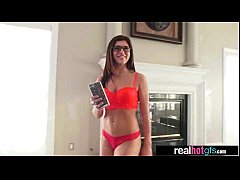 Amazing Sex Scene On Camera With Hot GF (leah g...
