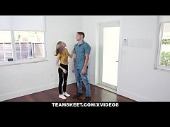 Skinny Teen (Alicia Williams) Rides Cock And Cu...