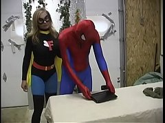 Clip sex Spiderman and Flygirl