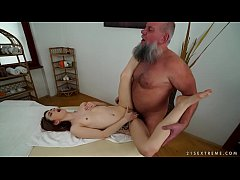 Older man fucks her...