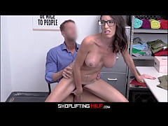 Senator's Wife Big Tits MILF Dava Foxx Caught Shoplifting Shoes Sex With Officer After Fuck Deal Is Made