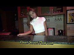 Skank Asian Bargirl Buggered For Beer