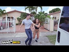 BANGBROS - Latin PAWG Kelsi Monroe Taking Dick ...