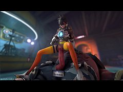 Overwatch - Tracer x Roadhog (Animated, Sound) ...