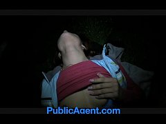Clip sex PublicAgent Lucy Gets my big cock in her behind the train station.