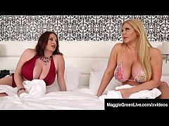 Big Titty Milfs Maggie Green & Karen Fisher Share Black Cock