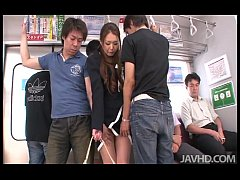 A group of horny subway passengers take control...