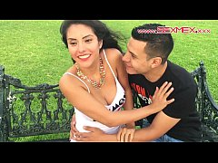 Clip sex Silvia Santez Mexican brunnete Slut fucks a guy she just met