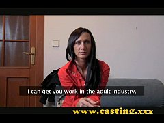 Casting - this babe is made for porn