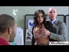 Busty Sexy Worker Girl (stephani moretti) Get H...