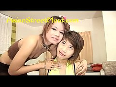 Lingerie Asian Threesome