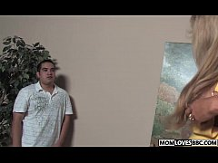 Son witness how mom Morgan Ray takes a BBC
