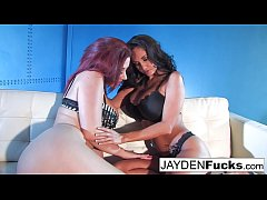Jayden Jaymes and Ava Addams threesome fucking
