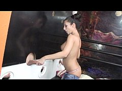 HD Dirty spanish glory hole with final surprise