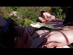 French amateur fucking filmed outdoor Vol. 9