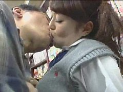 Clip sex Uncle fucking teen japanese girl in supermarket