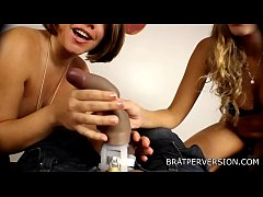 Chastity Humiliation by Two Hot Bitches -  Miss Brat Perversions, Nikki Brooks
