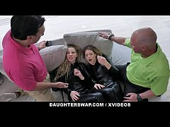 DaughterSwap - Hot Teens Punished By Step Dad F...