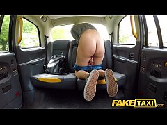 Fake Taxi Hot blonde Sophia Grace sex toy turns...