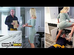 Clip sex BANGBROS - Nikki Benz Gets Her Pipes Fixed By Plumber Derrick Pierce