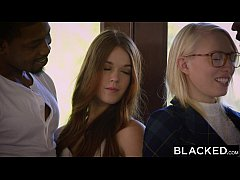 BLACKED Redhead Kimberly Brix First Interracial...