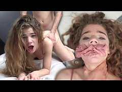 Tiny Spanish Teenager Sabrina Spice Loves it ROUGH - BLEACHED RAW - Episode IV