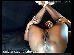 KatNKain - Watch me get fucked to tears pussy f...