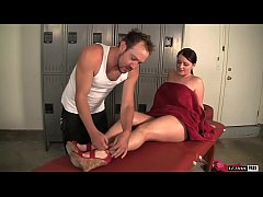 Sophie Dee Gets A Deep Dick Massage In The Lock...