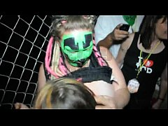 Wild outdoors sex at the Gathering Of The Juggalos