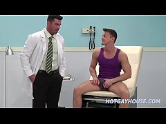 Doctor and patient does it in the clinic