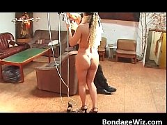 Blonde and brunette are two hot sluts