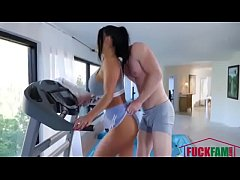 August Taylor in Hottest Workout Ever