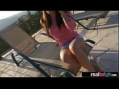 (ally) Hard Scene With Amateur Real GF video-03